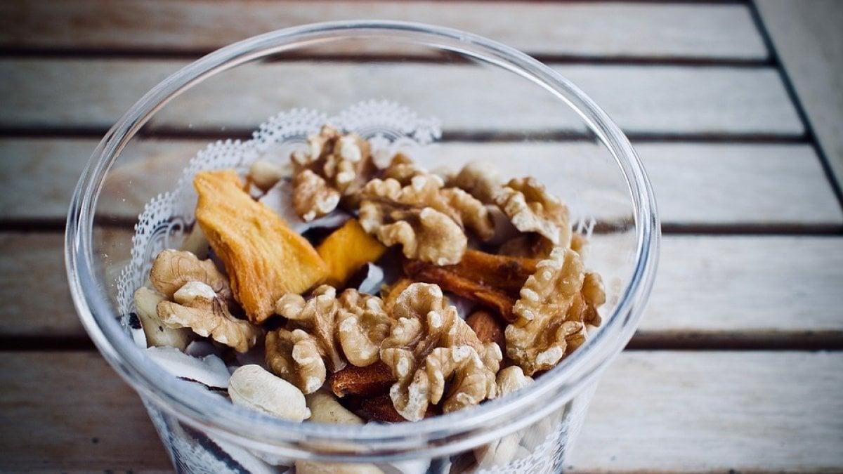 frutta secca calorie per dieta