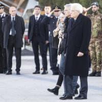 Megalizzi, Mattarella accoglie la salma a Ciampino. Ad Antonio la tessera dell'Ordine dei...