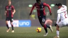 Il Milan fallisce l'allungo Champions: a Bologna finisce 0-0