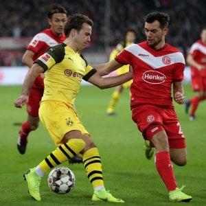 Germania, Borussia Dortmund ko a sorpresa: la capolista cade a Dusseldorf