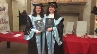 Dopo la triennale madre e figlia si laureano di nuovo insieme
