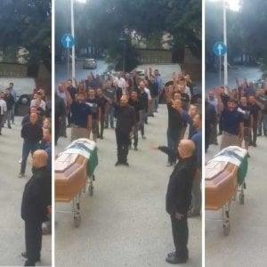 Sassari, a giudizio i 23 di CasaPound per il funerale fascista