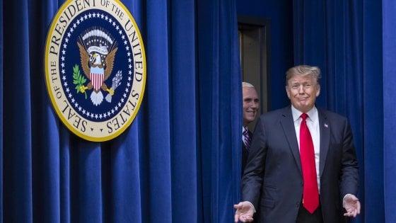 Il presidente Trump