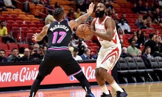 Basket, Nba: super-Gallinari trascina i Clippers, Houston ko a Miami