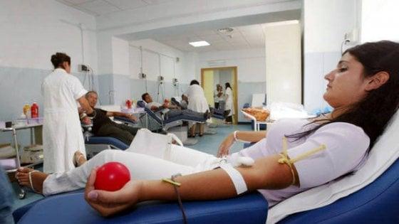 Un donatore di sangue su mille scopre un'infezione