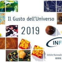 Il gusto dell'universo: il calendario 2019 dell'Infn
