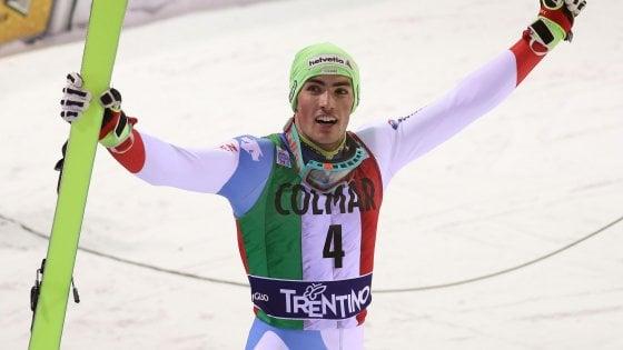 Sci, Cdm; slalom Madonna di Campiglio: Hirscher sbaglia e Yule trionfa. Razzoli è quinto