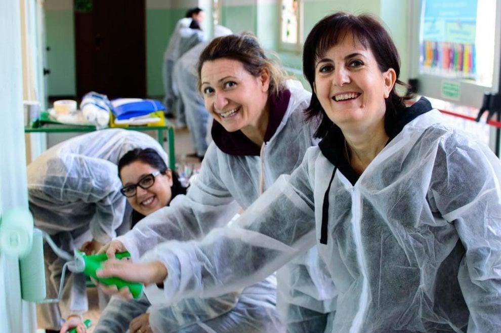 Bricolage del cuore dal piemonte alla sicilia volontari per le riqualificazioni edilizie - Gruppo bea piastrelle ...