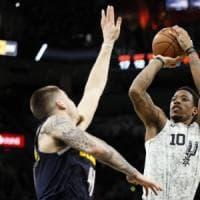Basket, Nba: San Antonio e Clippers ok, Toronto sbanca Miami in rimonta