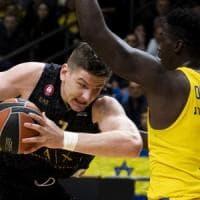 Basket, Eurolega: Milano cede sul più bello, il Maccabi vince 94-92