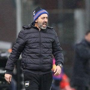 Sampdoria, Giampaolo: ''Nulla da perdere? Anche se con la Juve c'è sempre da perdere...''