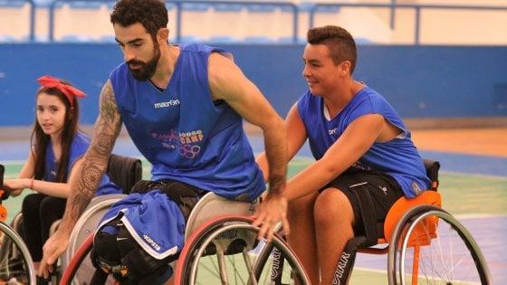Candido junior camp sbarca al sud: da Reggio Calabria a Salerno, alla scoperta del basket in carrozzina