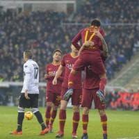 Parma-Roma 0-2, Cristante e Under avvicinano la zona Champions