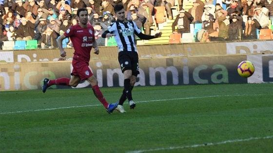 Udinese-Cagliari 2-0: Pussetto e Behrami rilanciano i bianconeri