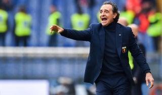 Genoa, Prandelli: ''Meglio nella ripresa, buon punto''