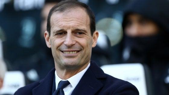Juventus, Allegri non si accontenta: ''Possiamo e dobbiamo migliorare''