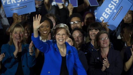 Usa, Elizabeth Warren lancia la candidatura per la Casa Bianca nel 2020
