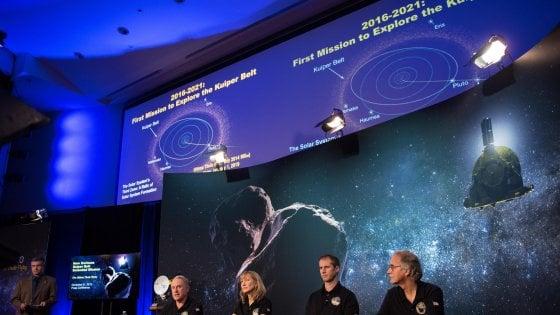 Ultima Thule, la sonda Nasa raggiunge il corpo celeste più lontano