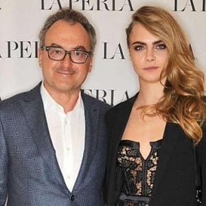 Silvio Scaglia e la modella Cara Delevingne