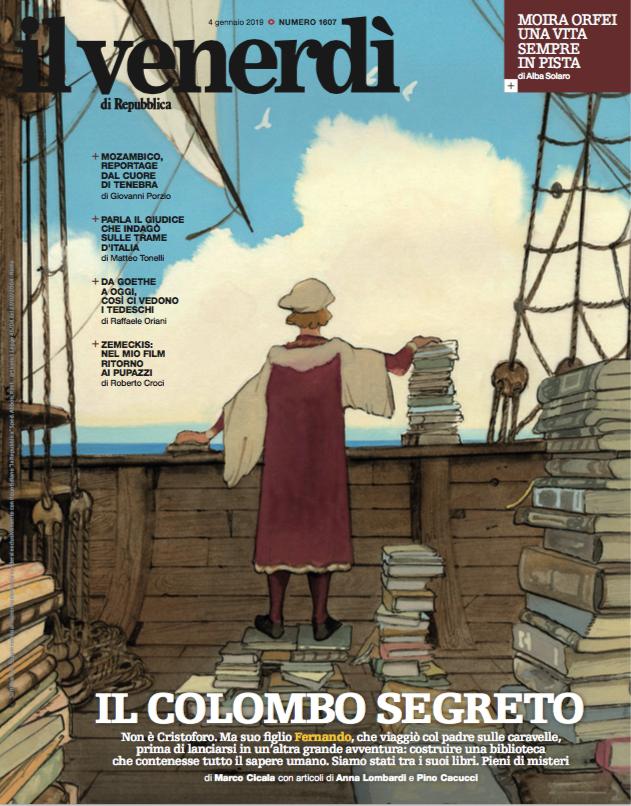 Il Colombo che andò alla scoperta dei libri