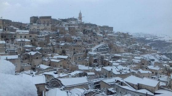 Venti polari e neve sull'Italia, temperature giù di 15 gradi