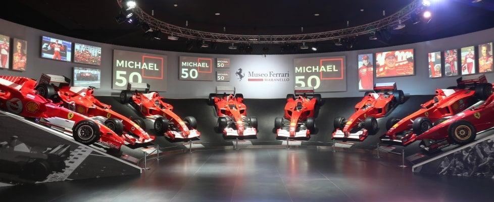 """""""Michael 50"""", a Maranello la mostra pià spettacolare di sempre: quella dedicata a Schumi"""