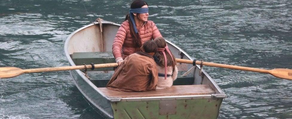 'Bird Box', Sandra Bullock conquista tutti: è questo il film originale Netflix più visto