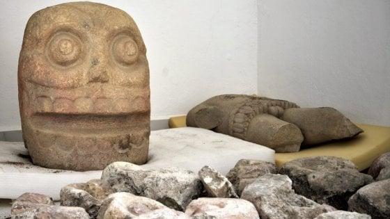 Messico: trovato il primo tempio del dio scuoiato, Xipe Tòtec