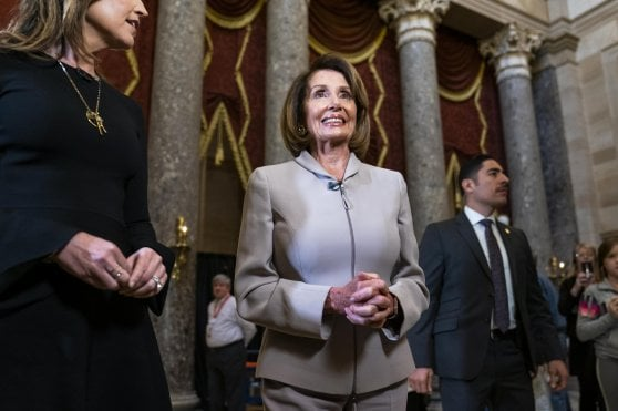 Nancy Pelosi non esclude l'impeachment: