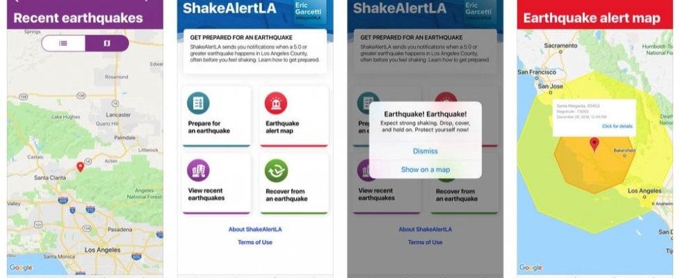 ShakeAlertLA, a Los Angeles un'app avvisa qualche secondo prima dei terremoti in arrivo
