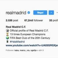 Instagram, Real leader e Juve fuori dal podio: ecco la classifica dei club con più follower