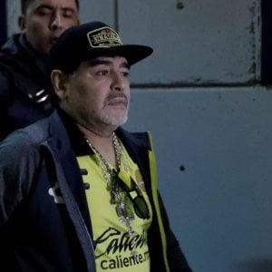 Scampato pericolo per Maradona: ricovero per emorragia gastrica, dimesso dopo 4 ore