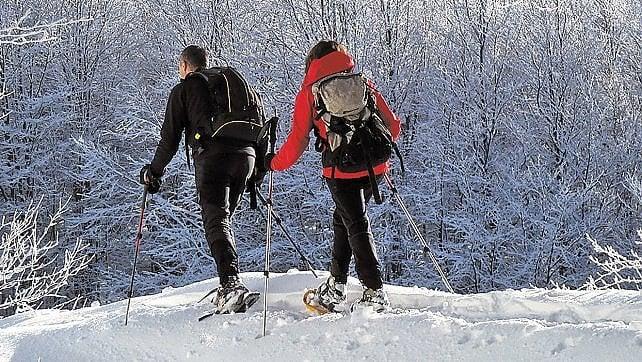 Non solo Alpi, neve d'Abruzzo