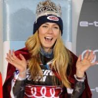 Sci, Cdm: Mikaela Shiffrin domina lo slalom di Zagabria