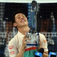 Tennis, Brisbane: nella 'calza' di Nishikori un titolo atteso quasi 3 anni