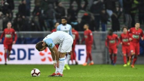 Coppa Francia, Marsiglia che figuraccia