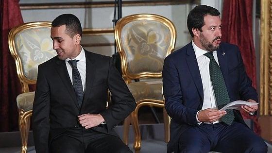 M5S-Lega, tutti i duelli tra Di Maio e Salvini alla riapertura delle Camere
