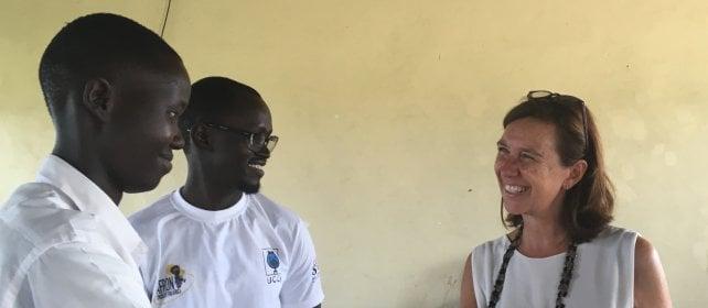 Maria Tiziana, in Africa per combattere il cancro