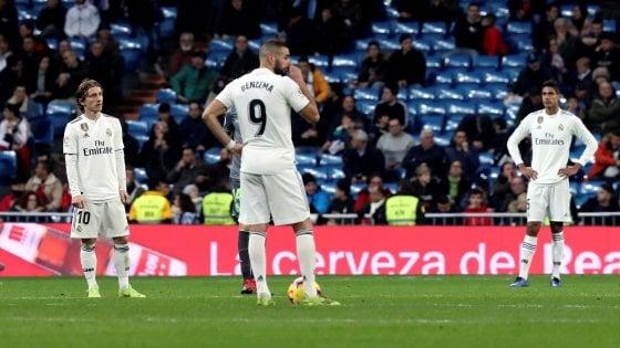 Real Madrid di nuovo in crisi, tornano le voci su Conte e Mourinho