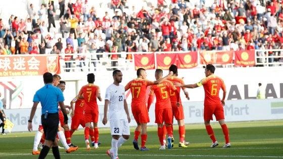 Coppa d'Asia, parte bene la Cina di Lippi. Ko le Filippine di Eriksson