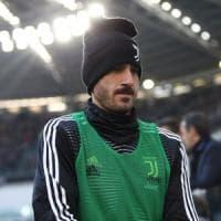 Juventus, voglia di ricominciare: Bonucci e Alex Sandro già in campo