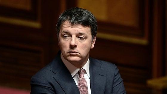 """Carige, Renzi a Salvini e Di Maio: """"Dovete vergognarvi per averci insultato per anni sulle banche"""""""