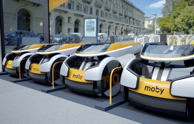 Moby, il car-sharing per sedie a rotelle