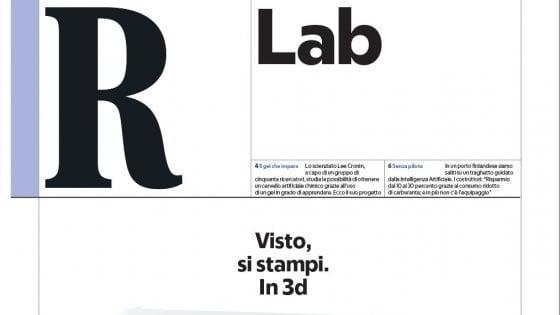 RLab: le ultime stampanti in 3D, dagli organi umani alla case
