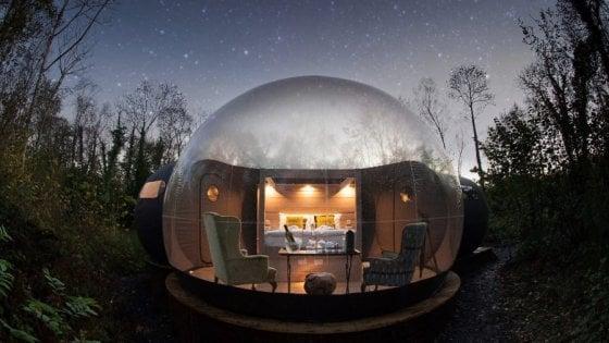 Una camera con vista. A 360 gradi. Tra Irlanda e Australia, il fenomeno bubble hotel