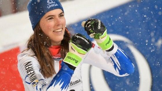 Sci, Coppa del Mondo: Vlhova più forte della febbre. Suo lo slalom di Flachau, Shiffrin beffata