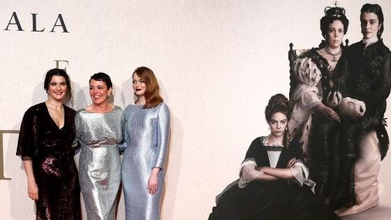 Bafta, 12 nomination per 'La favorita', triangolo femminile in costume