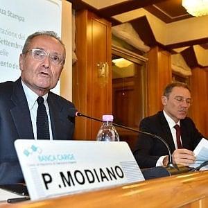 Pietro Modiano e Fabio Innocenzi, già presidente e ad di Carige, ora commissari
