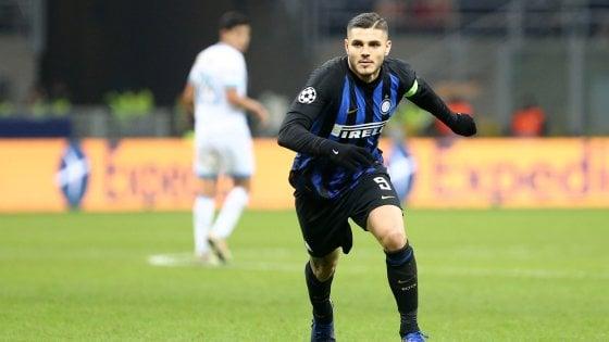 "Inter, Wanda Nara: ""Rinnovo Icardi ancora molto lontano"""