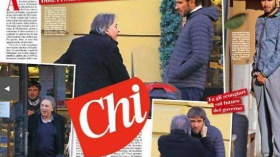 """Rai, Freccero e Di Battista fotografati a pranzo insieme. L'attacco del Pd: """"Altro che via i partiti dalla tv pubblica"""""""
